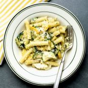 Summer Pasta With Zucchini, Ricotta and Basil