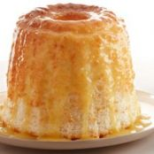 Angel Food Cake with Fresh Citrus Sauce (Cake Mix)