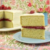 *Raspberry Chia Seed Jam for Gluten-free Yellow Cake