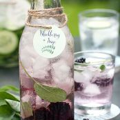 Blackberry & Sage Infused Water