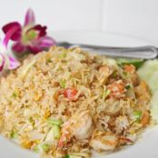 Shrimp Fried Rice - healthy version