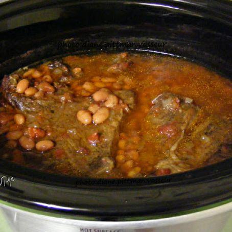 Crock Pot Mexican Roast Amp Pinto Beans Recipe 4 5