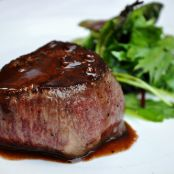 Wagyu Filet Mignon with Shallot & Red Wine Sauce