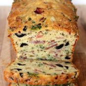 Olive, Bacon, & Cheese Bread