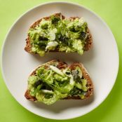 Avocado Toast with Nori Mix