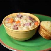 Basic Ham and Bean Soup