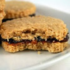 Date Filled Oat Cookies