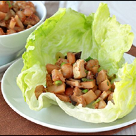 Chicken And Shrimp Lettuce Wraps Recipe 3 5 5