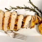 Lemon-Rosemary Grilled Chicken Breasts, 5-Ingredient