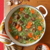 Meatball & Escarole Soup