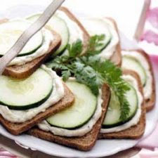 Ranch Cucumber Sandwiches