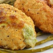 Broccoli & Cheese Stuffed Chicken Breasts