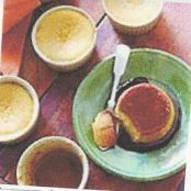 Gingered Pumpkin Flans