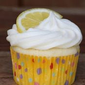 Lemon-Limoncello Cupcakes