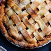 Pear Pie with Red Wine & Rosemary