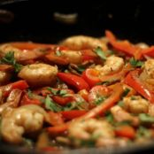 Spicy Citrus Shrimp Fajitas