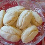 Ricciarelli, Traditional Italian Almond Cookies
