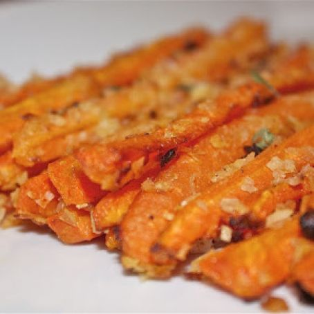 Roasted Carrot Fries