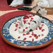 Chiles en Nogada - Chiles in Walnut Sauce