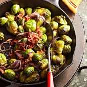 Bacon-Roasted Brussel Sprouts