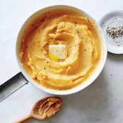 Buttery Pumpkin Mashed Potatoes