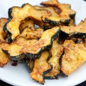 Roasted Parmesan Garlic Acorn Squash