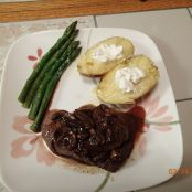 Beef Tenderloin with Portabella Sauce