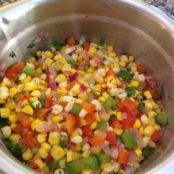 Corn Salad with Cilantro Dressing