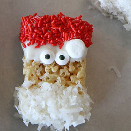 Rice Krispies Treats Santas