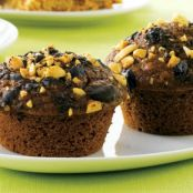 Dark Chocolate Crunch Muffins