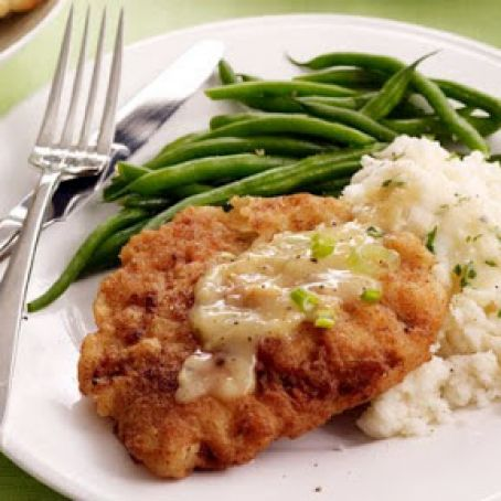 Beef: Tyler Florence's Chicken Fried Steak