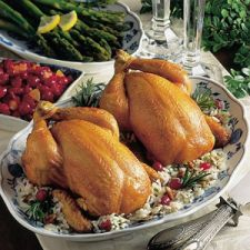 Broiled Cornish Hens