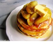 Buttermilk Pancakes with Caramelised Apples