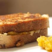 Grilled squash and cheese
