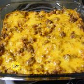 Cheesy Beef & Rice Casserole