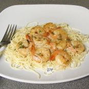 Lemon-Garlic Shrimp & Garlic Butter Pasta