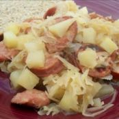 Easy Sausage, Potato and Sauerkraut