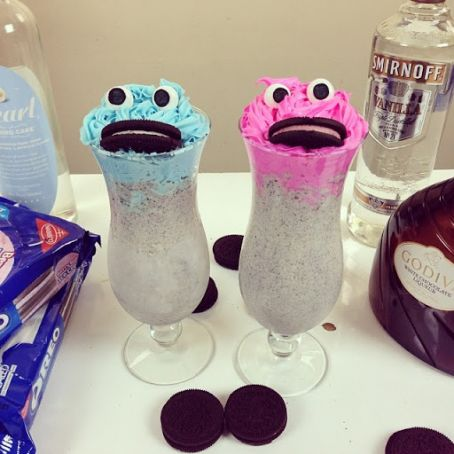 Drunken Cookie Monster Cocktail