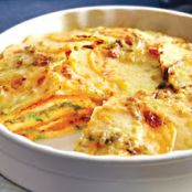 Yukon Gold & Sweet Scalloped Potatoes