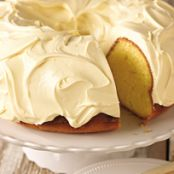 Lemon Pound Cake w/ cake mix
