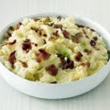 Bacon-Cheddar Mashed Potatoes