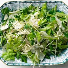 Celery Salad with Celery Root and Horseradish