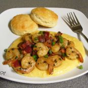 Shrimp & Cheesy Corn Grits