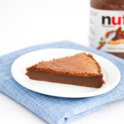 Two Ingredient Flourless Nutella Cake