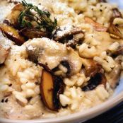 Mushroom Risotto with Parmesan & Herbs