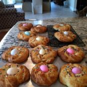 Easter Bread, Pane de Pasqua all Uovo