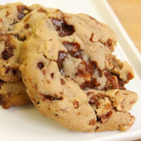 Toffee Pecan Drop Cookies