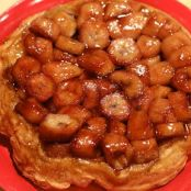 Maple-Banana Tart (Tarte Tatin)