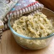 Artichoke Lemon Pesto Dip