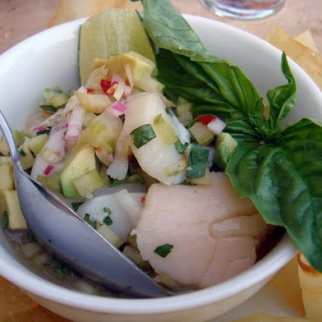 Red Snapper & Mango Ceviche